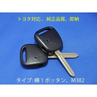 高品質/トヨタ/横1ボタン/ブランクキー/キーレス/カギ/イスト/ncp61(セキュリティ)