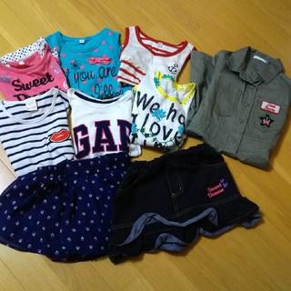 ザラ(ZARA)の女の子❤️まとめ売り9点セット 110㎝(Tシャツ/カットソー)