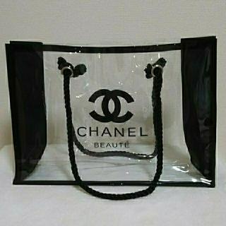 CHANEL - CHANELビニールトートバック(非売品)