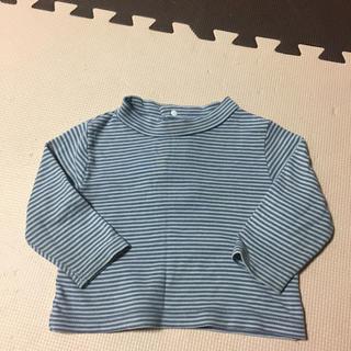 シマムラ(しまむら)のボーダーロンT80(Tシャツ)