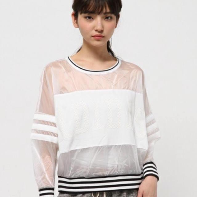adidas(アディダス)のadidas シースループルオーバー レディースのトップス(Tシャツ(長袖/七分))の商品写真