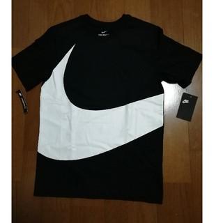 ナイキ(NIKE)のカレーライス師匠様専用NIKE19SS ビッグロゴT 黒S 未使用タグ付き(Tシャツ/カットソー(半袖/袖なし))