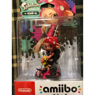ニンテンドースイッチ(Nintendo Switch)の【新品未開封】アミーボ タコガール(ゲームキャラクター)