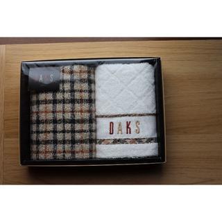ダックス(DAKS)のDAKS(ダックス)ウォッシュタオル 2枚セット(タオル/バス用品)
