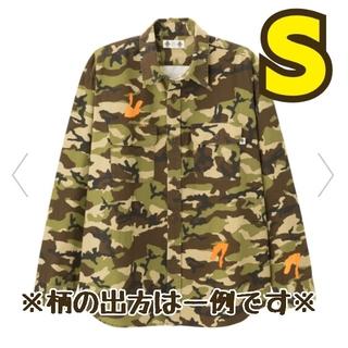 ジーユー(GU)のGU★STUDIO SEVENコラボ★大型店限定ミリタリーシャツ/オリーブ/S(シャツ)