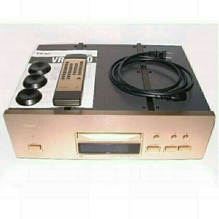 TEAC CDプレーヤー VRDS-50 リモコン・取説付(その他)