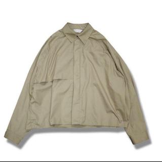ジエダ(Jieda)のjieda トレンチシャツ 19SS(シャツ)