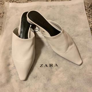 ザラ(ZARA)のZARA ザラ 新品 タグ付き ミュール  39サイズ(ミュール)