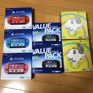 プレイステーションヴィータ(PlayStation Vita)の✴︎新品✴︎ PlayStation vita 7台セット(携帯用ゲーム本体)