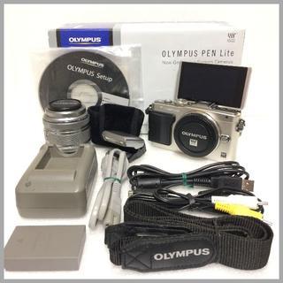 オリンパス(OLYMPUS)のオリンパス ミラーレス PEN Lite E-PL5 標準レンズキット(ミラーレス一眼)