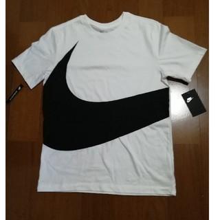 ナイキ(NIKE)のNIKE19SS 大人気ビッグロゴT 白M 未使用タグ付き(Tシャツ/カットソー(半袖/袖なし))