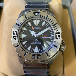 セイコー(SEIKO)の超美品 Seiko prospex シャークトゥース(腕時計(アナログ))