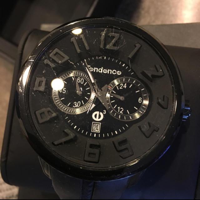 Tendence(テンデンス)のTendence クロノ腕時計 ブラック ラウンドガリバー メンズの時計(腕時計(デジタル))の商品写真
