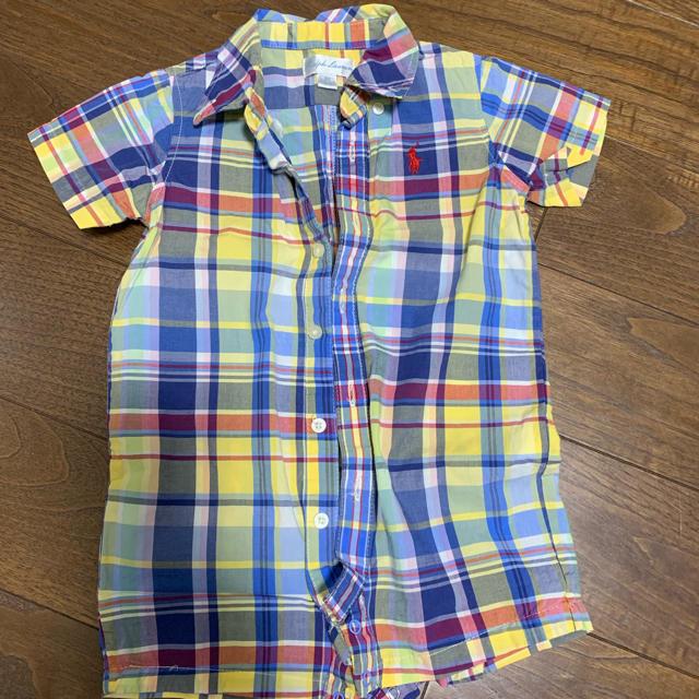 Ralph Lauren(ラルフローレン)のラルフローレン ロンパース 70 キッズ/ベビー/マタニティのベビー服(~85cm)(ロンパース)の商品写真