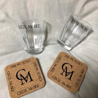 セシルマクビー(CECIL McBEE)のセシルマクビー ペアグラス(グラス/カップ)