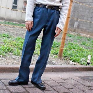 ラングラー(Wrangler)のwrangler wrancher dress jeans ブルー(スラックス)