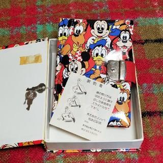 ディズニー(Disney)のDisney 鍵付きダイアリー 箱付き 平成初期(ノート/メモ帳/ふせん)