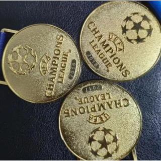 アディダス(adidas)のUEFA チャンピオンズリーグ優勝レプリカメダル 2016-2018(記念品/関連グッズ)
