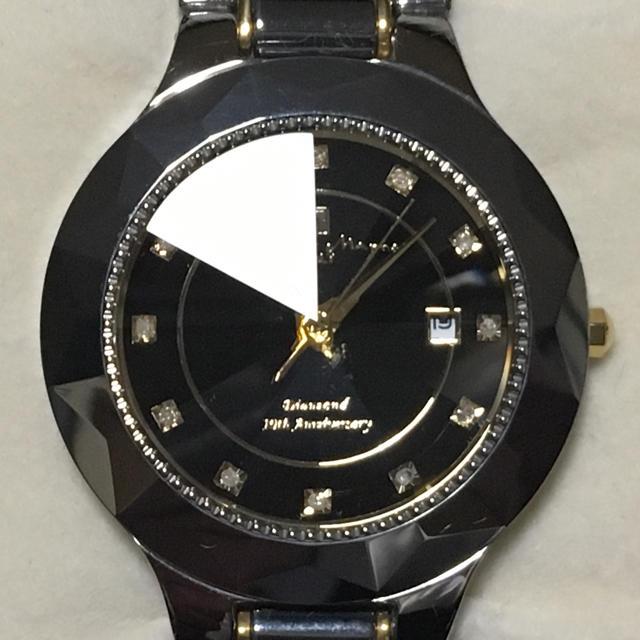 Salvatore Marra(サルバトーレマーラ)の未使用品 サルバトーレマーラ 腕時計 ダイヤモンド タングステン メンズの時計(腕時計(アナログ))の商品写真