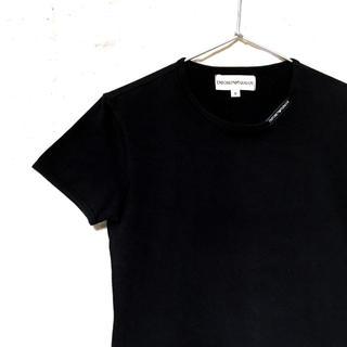 huge selection of c28a9 eda32 アルマーニ(Emporio Armani) 無地 Tシャツ(レディース/半袖)の ...