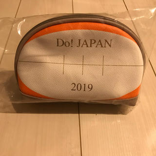 ラグビーボール型ポーチ Do!JAPAN 2019(ラグビー)