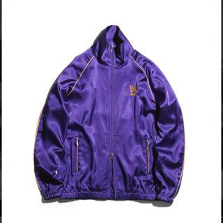 ニードルス(Needles)の送料込 awge Needles パイピングトラックジャケット 紫 パープル(ジャージ)