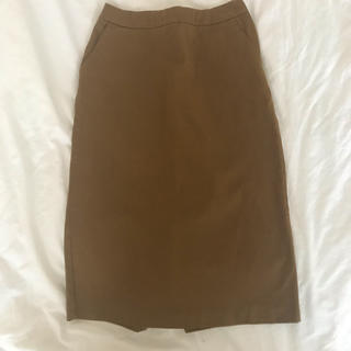 ムジルシリョウヒン(MUJI (無印良品))のタイトスカート。無印良品。(ひざ丈スカート)