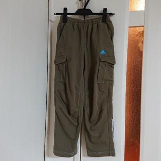 アディダス(adidas)のadidas アディダス カーゴパンツ 130 カーキ ズボン(パンツ/スパッツ)