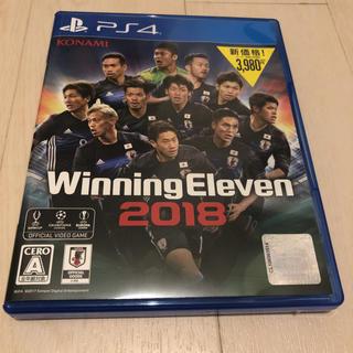 プレイステーション4(PlayStation4)のウイニングイレブン2018(家庭用ゲームソフト)