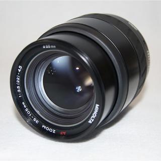 コニカミノルタ(KONICA MINOLTA)のMINOLTA AF ZOOM35-105mm1:3.5-4.5Φ55mmNew(レンズ(ズーム))