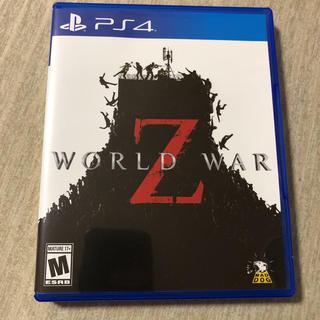 プレイステーション4(PlayStation4)のワールドウォーZ PS4 北米版 極美品(家庭用ゲームソフト)