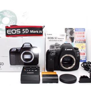 キヤノン(Canon)の★美品★Canon EOS 5D Mark 4 Ⅳ ボディ(デジタル一眼)