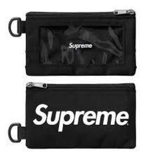 シュプリーム(Supreme)の新品 Supreme  Mobile Pouch black モバイルポーチ 黒(モバイルケース/カバー)