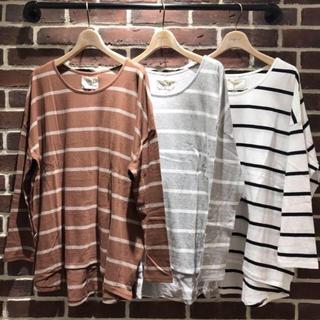 アングリッド(Ungrid)のungrid🖤ボーダー カットソーtee(Tシャツ(長袖/七分))