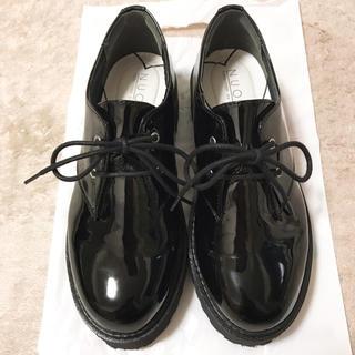 ヌォーボ(Nuovo)の厚底 レースアップシューズ NUOVO(ローファー/革靴)