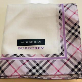 バーバリー(BURBERRY)のハンカチ Burberry バーバリー 未使用(ハンカチ)