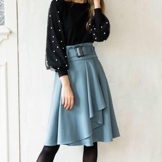 ノエラ(Noela)の【ゆっきー様専用】コルセット付ラップ風スカート(ひざ丈スカート)