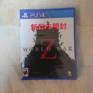 プレイステーション4(PlayStation4)のワールドウォーZ(家庭用ゲームソフト)
