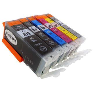 キヤノン(Canon)のキャノン 互換インク BCI-371XL BCI-370XL 6色セット②(PC周辺機器)