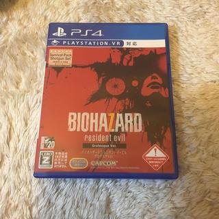プレイステーション4(PlayStation4)のバイオハザード7 レジデント イービル グロテスクVer.(家庭用ゲームソフト)