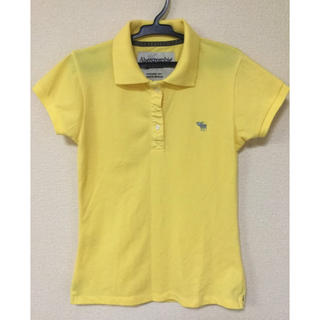 アバクロンビーアンドフィッチ(Abercrombie&Fitch)のアバクロ A&F  レディース ポロシャツ  Mサイズ(ポロシャツ)