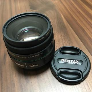 ペンタックス(PENTAX)のPENTAX 単焦点レンズ DA 50mm F1.8 (レンズ(単焦点))
