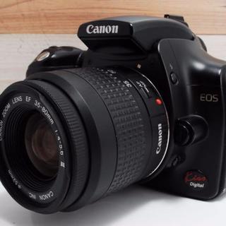 キヤノン(Canon)の【初心者最適機種】Canon kiss digital レンズセット★(デジタル一眼)