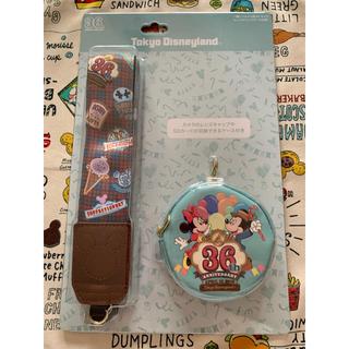 ディズニー(Disney)のディズニー リゾート ランド 36周年 カメラストラップ(ネックストラップ)