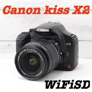 キヤノン(Canon)の❤️初心者必見❤️スマホ転送❤️Canon kiss X2(デジタル一眼)