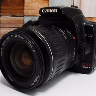 キヤノン(Canon)の★超人気機種★ Canon KissX レンズセット(デジタル一眼)