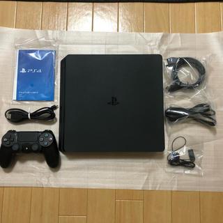 プレイステーション4(PlayStation4)の【美品&新品】PS4+PSVR+シューコン+VR WORLDS(家庭用ゲーム本体)