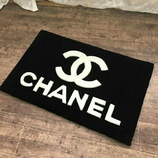 シャネル(CHANEL)のシャネルCHANEL ノベルティ 玄関マット カーペット (玄関マット)