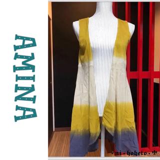 チチカカ(titicaca)の༻AMINA༺ ベスト 羽織 / 刺繍入り(ベスト/ジレ)