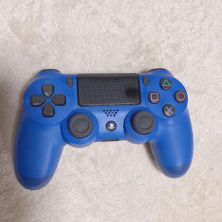 プレイステーション4(PlayStation4)のPS4 コントローラー ウェイブブルー SONY(その他)